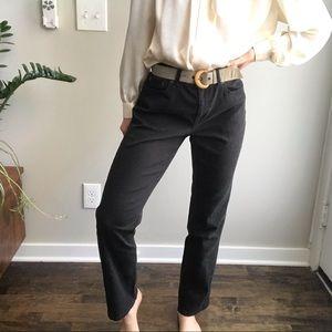 "RALPH LAUREN Premium Black ""Real Straight"" Jeans"